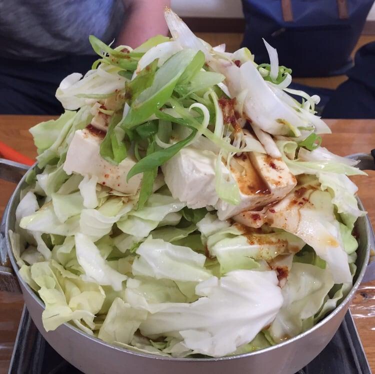 龍ちゃんホルモン 岩手県紫波郡矢巾町 ホルモン鍋定食