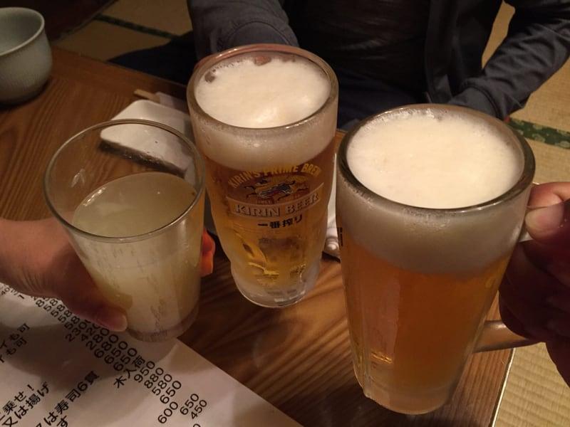 鳥園 岩手県盛岡市 生ビール 乾杯