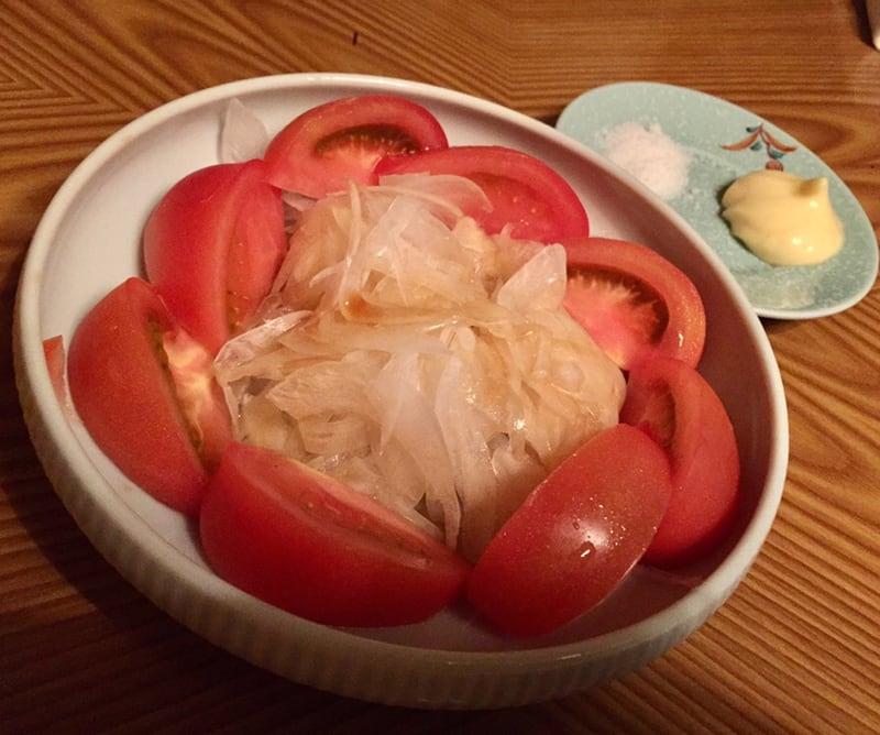 鳥園 岩手県盛岡市 冷やしトマト 新玉ねぎ