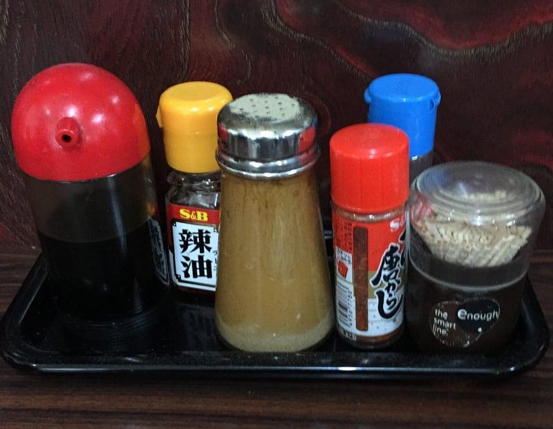 三重食堂 岩手県釜石市 タンメン 味変 調味料