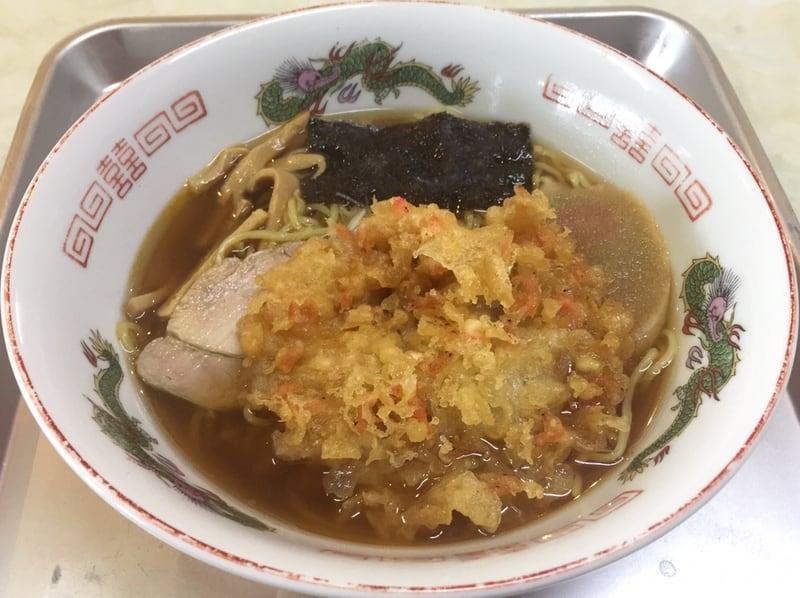 一源食堂 秋田県大仙市大曲 天ぷら中華