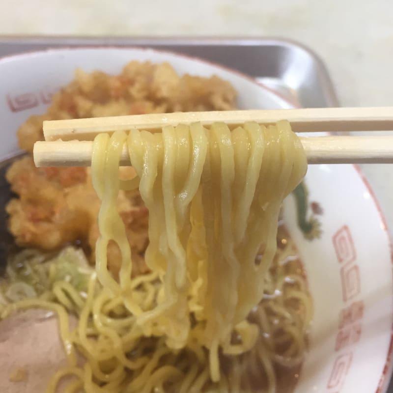 一源食堂 秋田県大仙市大曲 天ぷら中華 麺