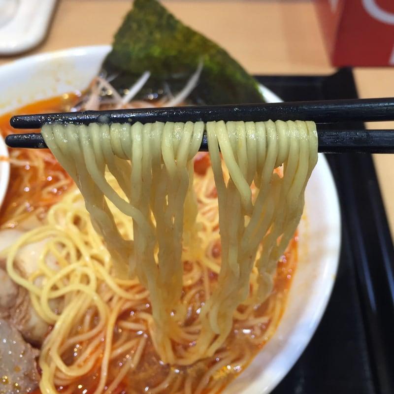 茨島厨房 ぱっぷや 秋田市茨島 リボン茨島店 らーめんセット 旨辛らーめん 麺