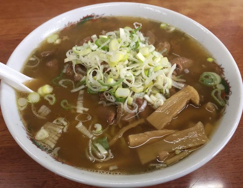 お食事処 千年桜 秋田県由利本荘市 ホルモンラーメン