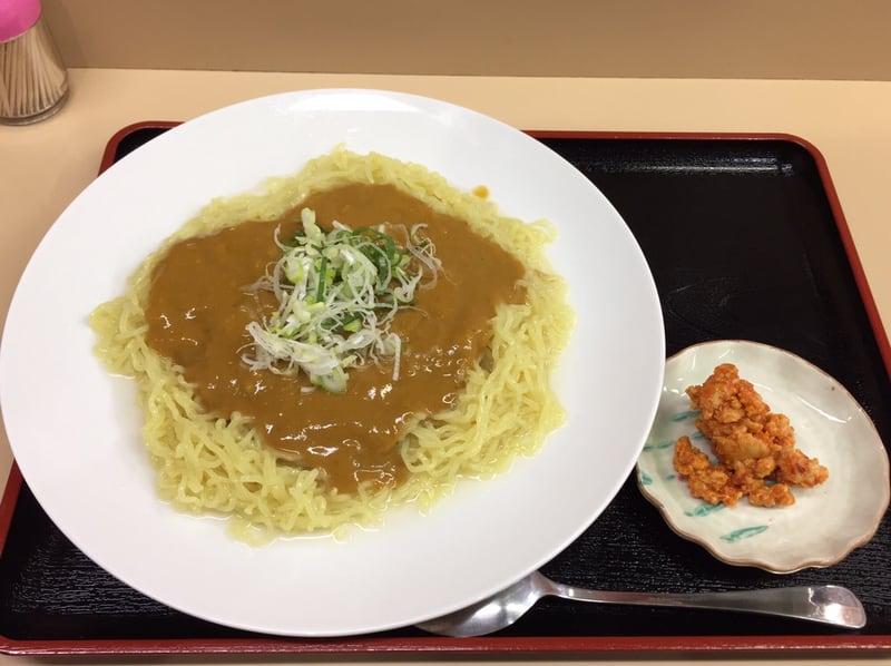 讃岐うどん 和太郎 秋田市場店 秋田市中通 冷たいカレーラーメン