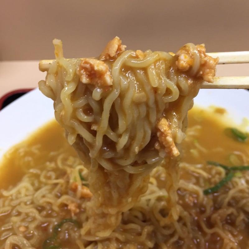 讃岐うどん 和太郎 秋田市場店 秋田市中通 冷たいカレーラーメン 麺
