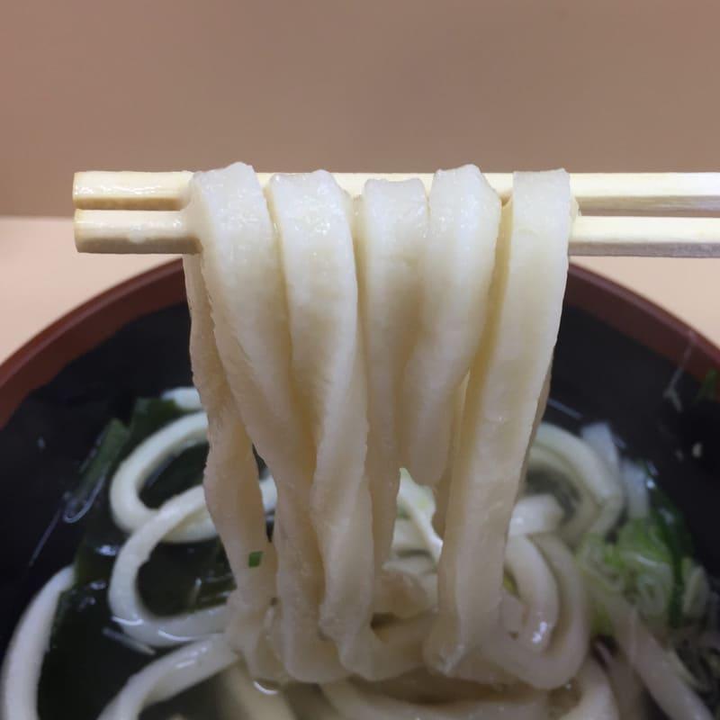 讃岐うどん 和太郎 秋田市場店 秋田市中通 かけうどん 290円 麺