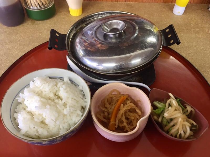 お食事 かあちゃん 秋田県能代市二ツ井町 ラーメン鍋焼定食