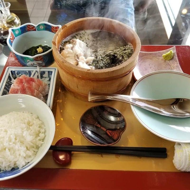 元祖石焼き 美野幸(みのこう) 秋田県男鹿市 天然真鯛の石焼定食