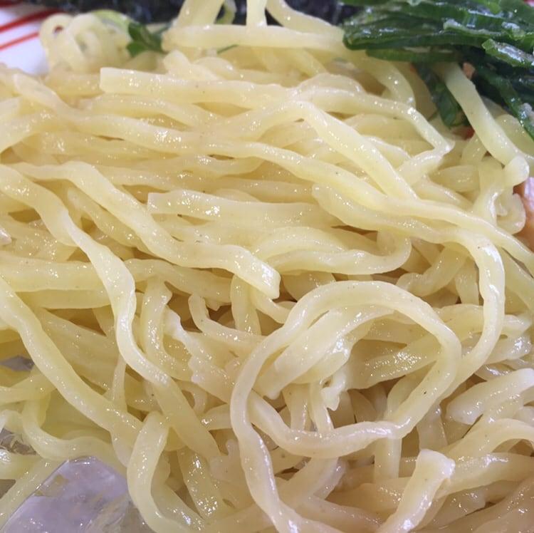らーめん鷹島 秋田広面店 秋田市広面 コク旨つけ麺 麺