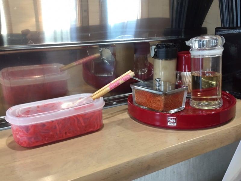 MONCHAN RAMEN SHUN(もんちゃんラーメン シュン) 秋田県由利本荘市 濃厚エビつけ麺 味変 調味料