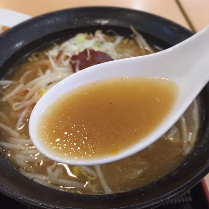 六星軒 イオンモール秋田店 秋田市御所野 南部辛味ラーメン スープ