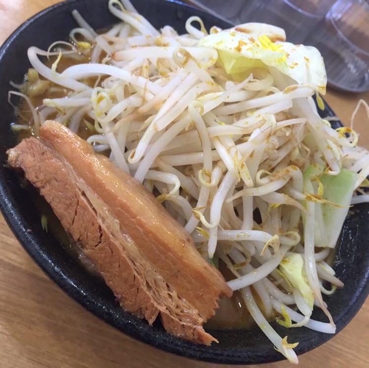 麺屋 羅漢 秋田県横手市 羅漢カレーラーメン 具