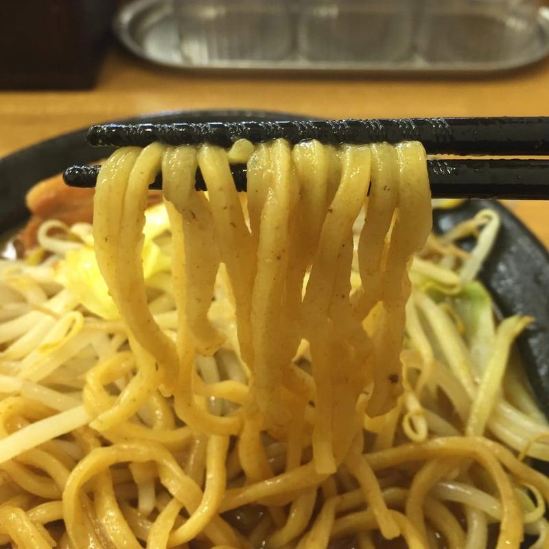 麺屋 羅漢 秋田県横手市 羅漢カレーラーメン 麺