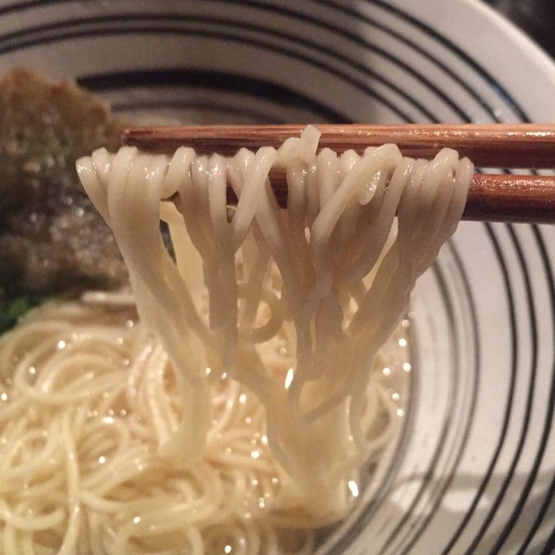 堂の浦 栄町本店 徳島県徳島市 鯛の塩らーめん 麺