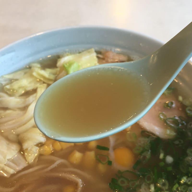 旭軒 本店 高知県高知市 ラーメン スープ