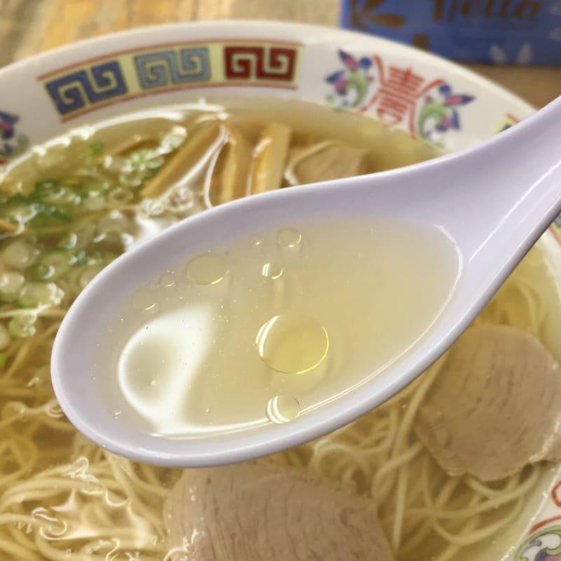 上海軒 香川県仲多度郡多度津町 中華そば スープ