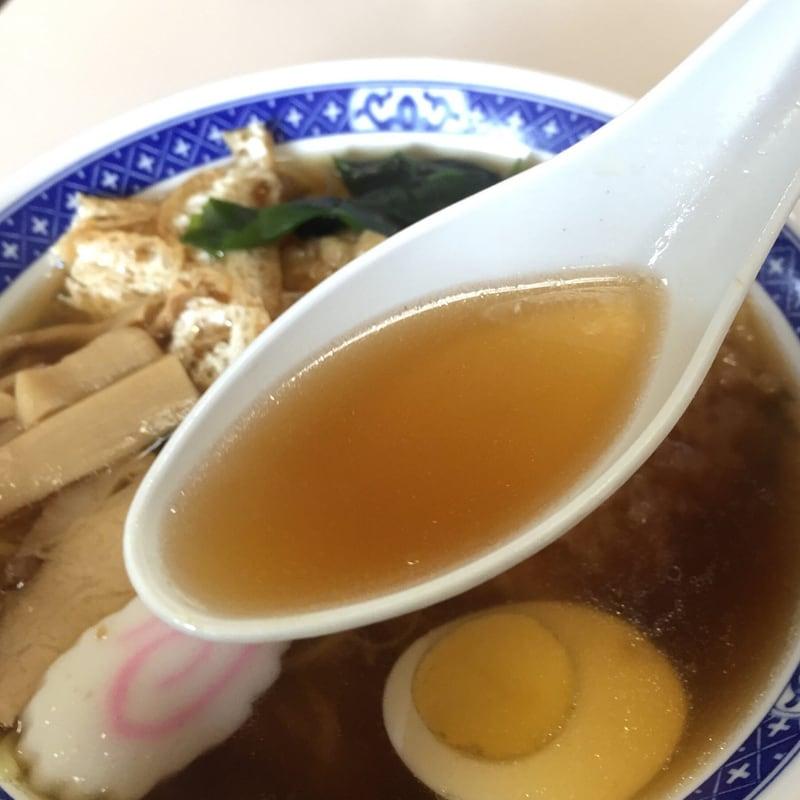 丹波食堂 秋田県大仙市大曲 天ぷら中華 スープ