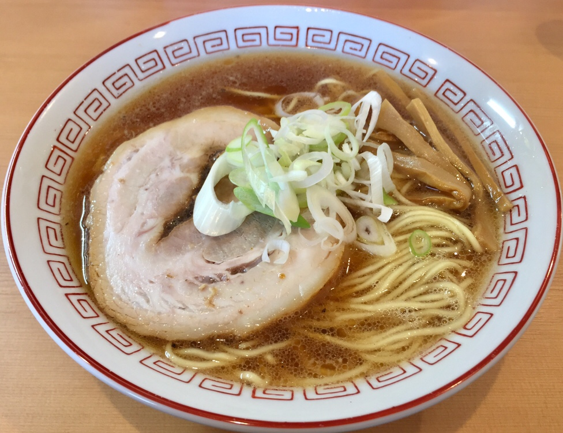 自家製麺 麺や二代目 夜来香 秋田市飯島 醤油ラーメン