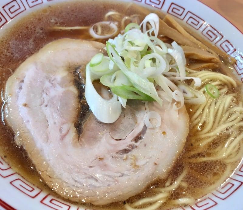 自家製麺 麺や二代目 夜来香 秋田市飯島 醤油ラーメン 具
