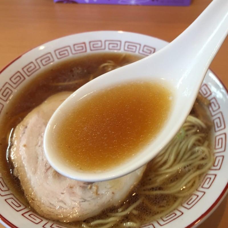 自家製麺 麺や二代目 夜来香 秋田市飯島 醤油ラーメン スープ