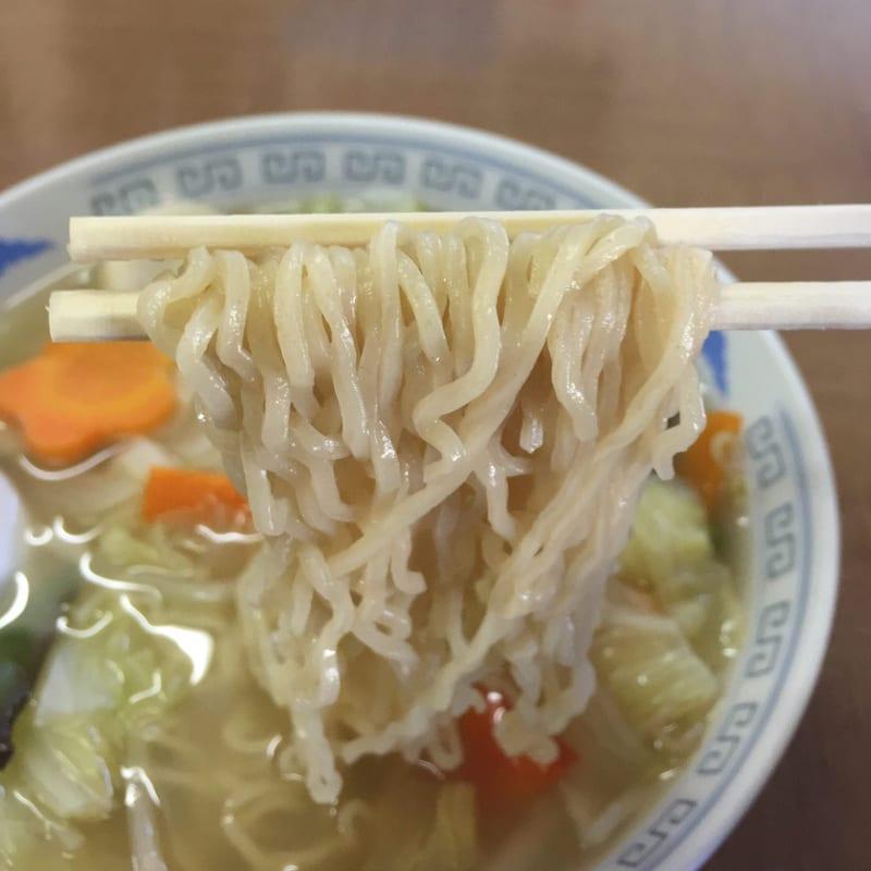 天勝軒 秋田県横手市十文字町 湯麺 タンメン 麺