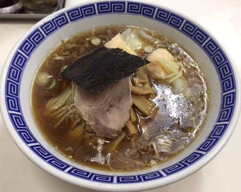 支那そば いしはら 東京都杉並区西荻北 西荻窪 ワンタン麺 肉 海老 ミックス