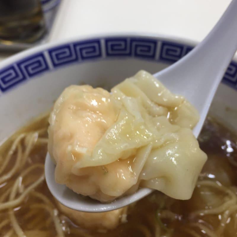 支那そば いしはら 東京都杉並区西荻北 西荻窪 ワンタン麺 肉 海老 ミックス 具