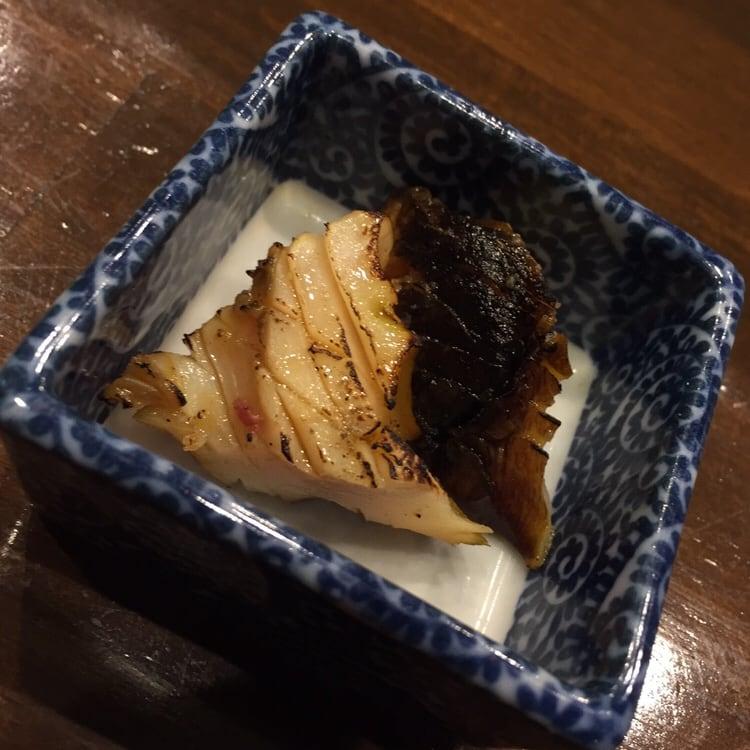 心粋厨房 獬(シエ) 秋田市南通 10000円のコース 千葉千倉産 サザエの網焼き