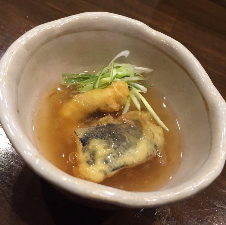 心粋厨房 獬(シエ) 秋田市南通 10000円のコース ハモ 丸茄子