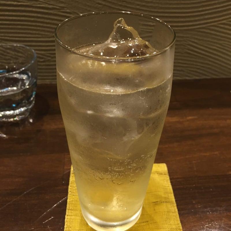 心粋厨房 獬(シエ) 秋田市南通 自家製ジンジャーエール割