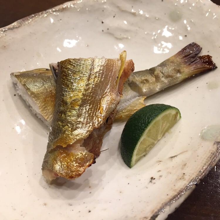 心粋厨房 獬(シエ) 秋田市南通 10000円のコース 天然鮎