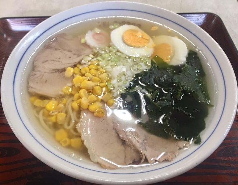 ちや食堂 秋田県にかほ市象潟町 鱈しょっつるラーメン