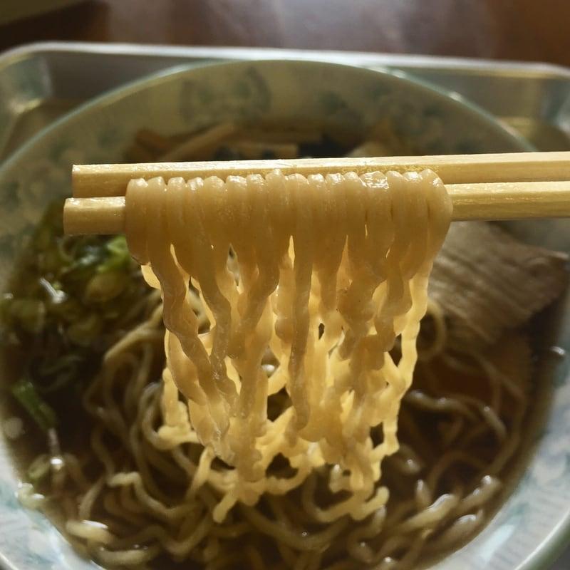 さざなみ食堂 秋田県にかほ市金浦 ラーメン 麺