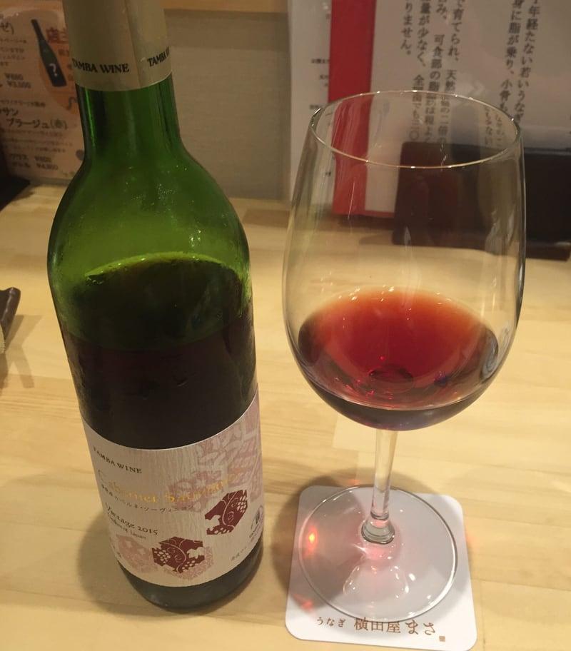 横田屋まさ 秋田市大町 お勧め赤ワイン