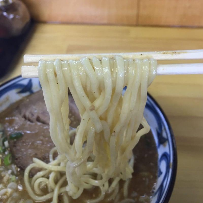 らーめん萬亀 秋田市山王 坦々麺 あっさり塩 麺