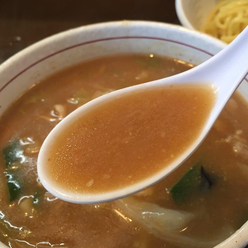 ラーメンショップ チャイナタウン 秋田市卸町 みそチャンポンつけめん 味噌 スープ つけ汁