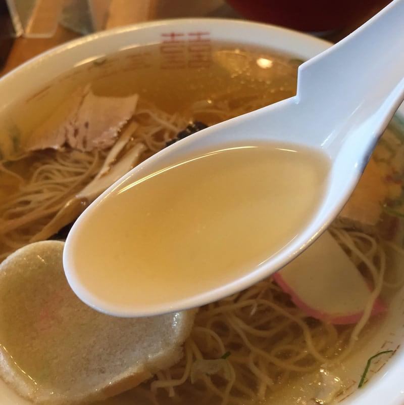 丸竹食堂 秋田県横手市十文字町 中華そば スープ