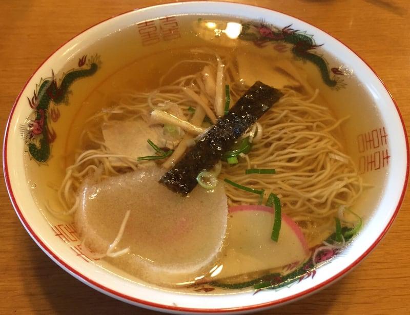 丸竹食堂 秋田県横手市十文字町 冷やがけ中華