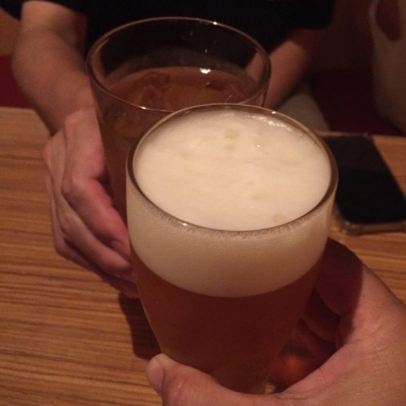 BAR JAH 秋田市大町 ビール 乾杯