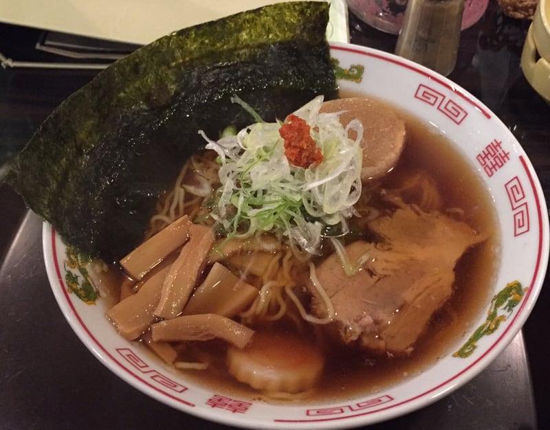 飲み処andキッチン ほのじぐみ 秋田市南通 ハマちゃんラーメン(鶏ガラだし)