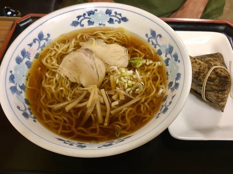 キクヤ食堂 青森県八戸市 キクヤラーメンとちまきセット