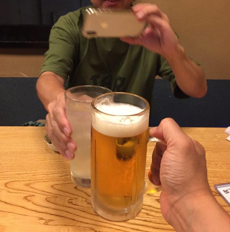 南部もぐり 青森県八戸市六日町 乾杯 ビール