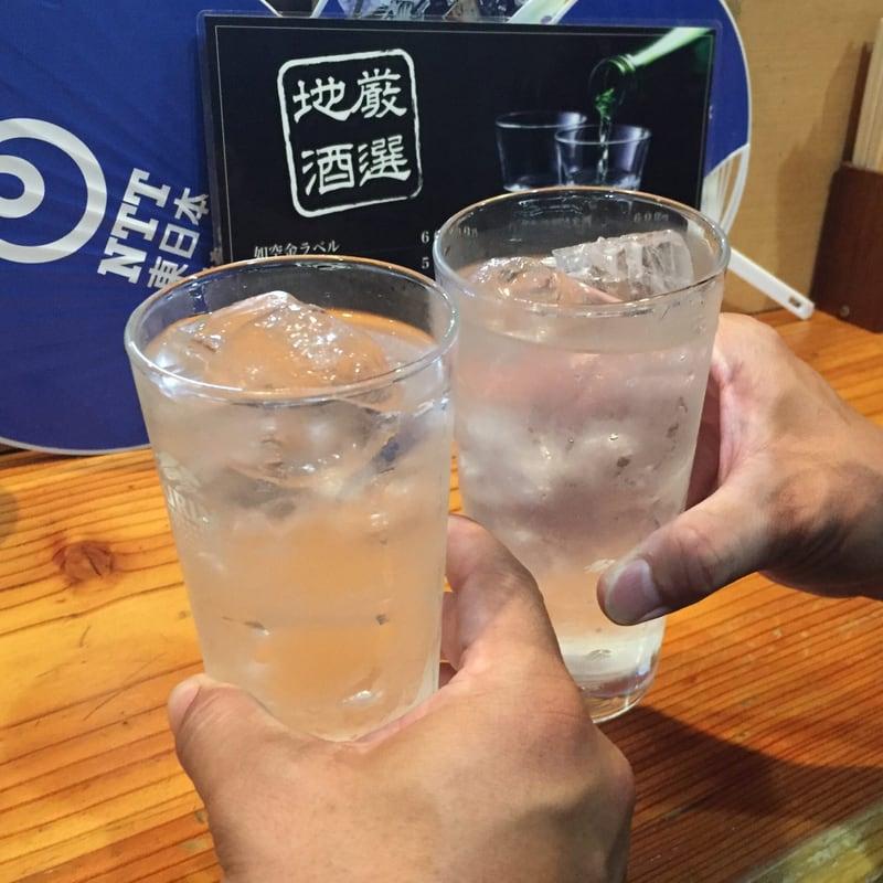 よろず屋 伊知郎 青森県八戸市三日町 みろく横丁 乾杯 レモンサワー