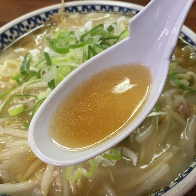 つねた食堂 青森県青森市浪岡 もやしそば スープ