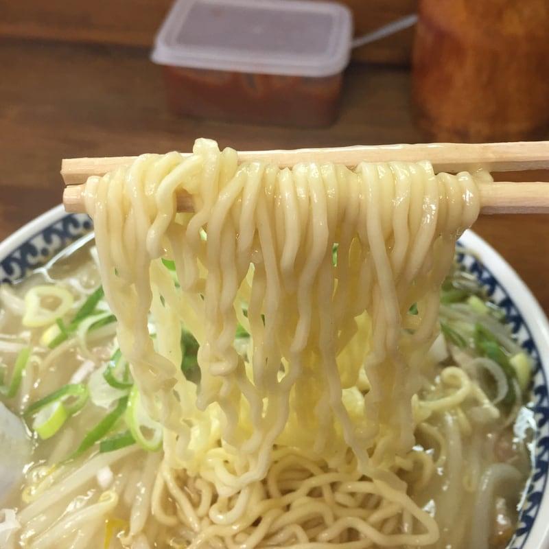 つねた食堂 青森県青森市浪岡 もやしそばの麺