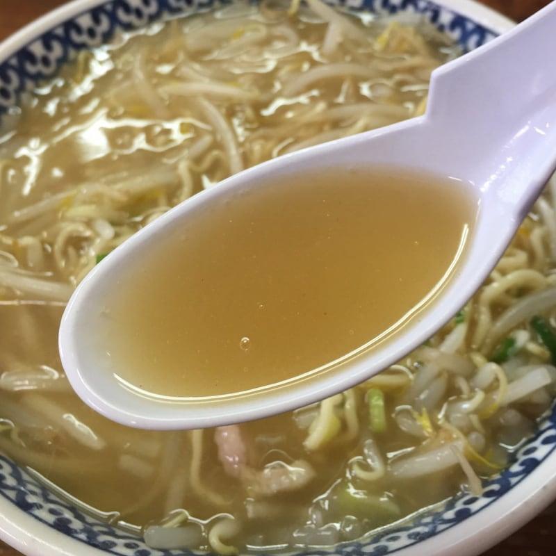 つねた食堂 青森県青森市浪岡 もやしそば 餡掛けスープ