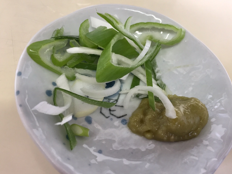 中華そば 焼そば 味助 青森県平川市 尾上 ざる中華 薬味 具