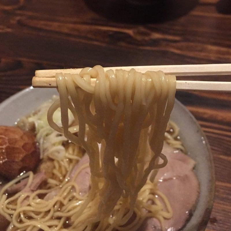 らーめん酒場 八甲田食堂 青森県弘前市 煮干中華そば 麺
