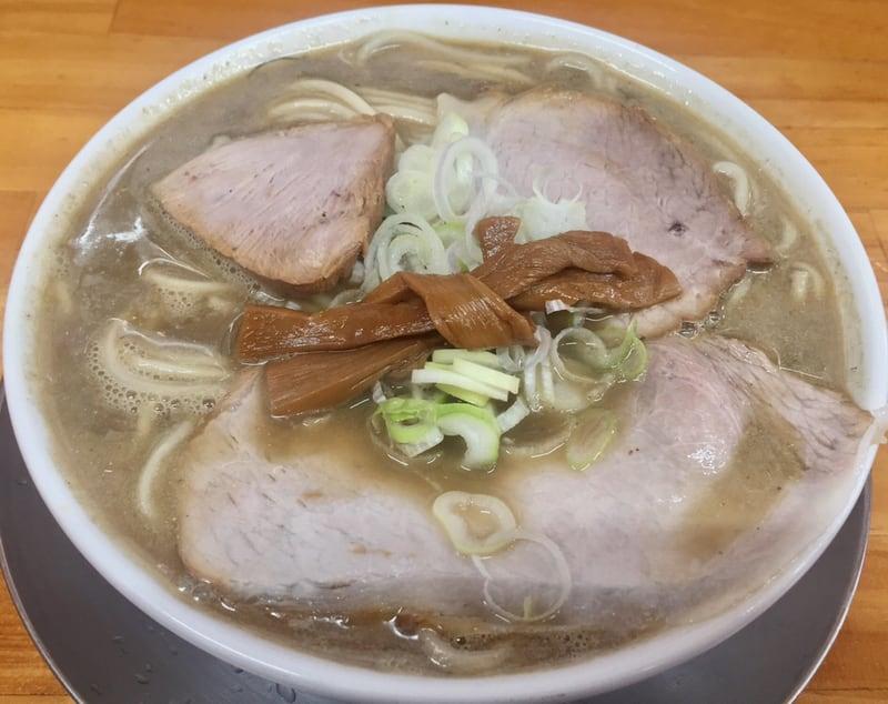 自家製麺 中華そば ひらこ屋 青森県青森市 とんこつ煮干しそば(こいくち) 豚骨煮干し